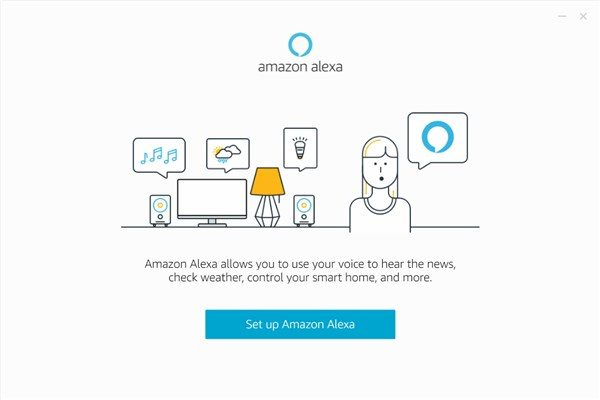 Amazon Alexa app on Windows - 5
