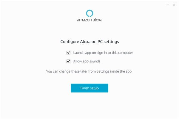 Amazon Alexa app on Windows - 7