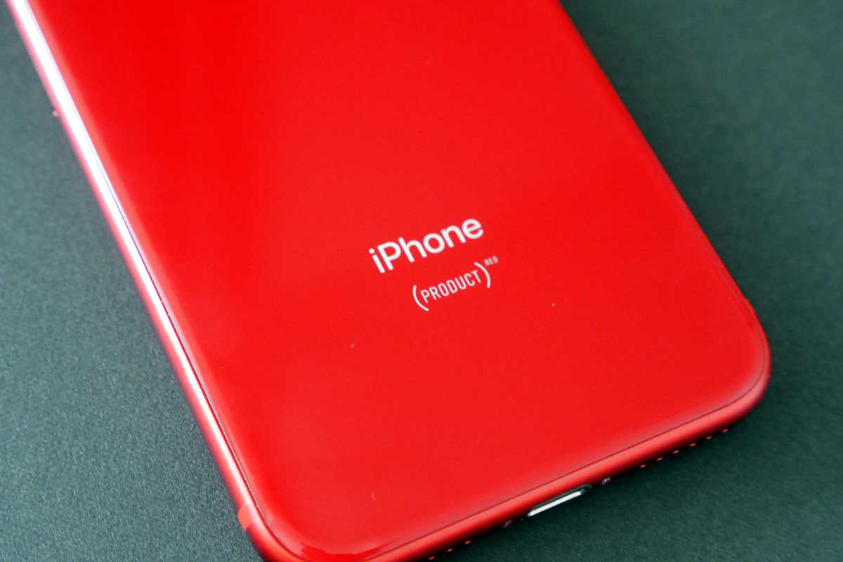 iPhone 8 (PRODUCT)RED - 3