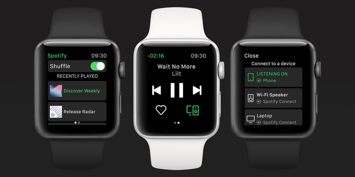 Spotify on Apple Watch - 0