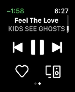 Spotify on Apple Watch - 3
