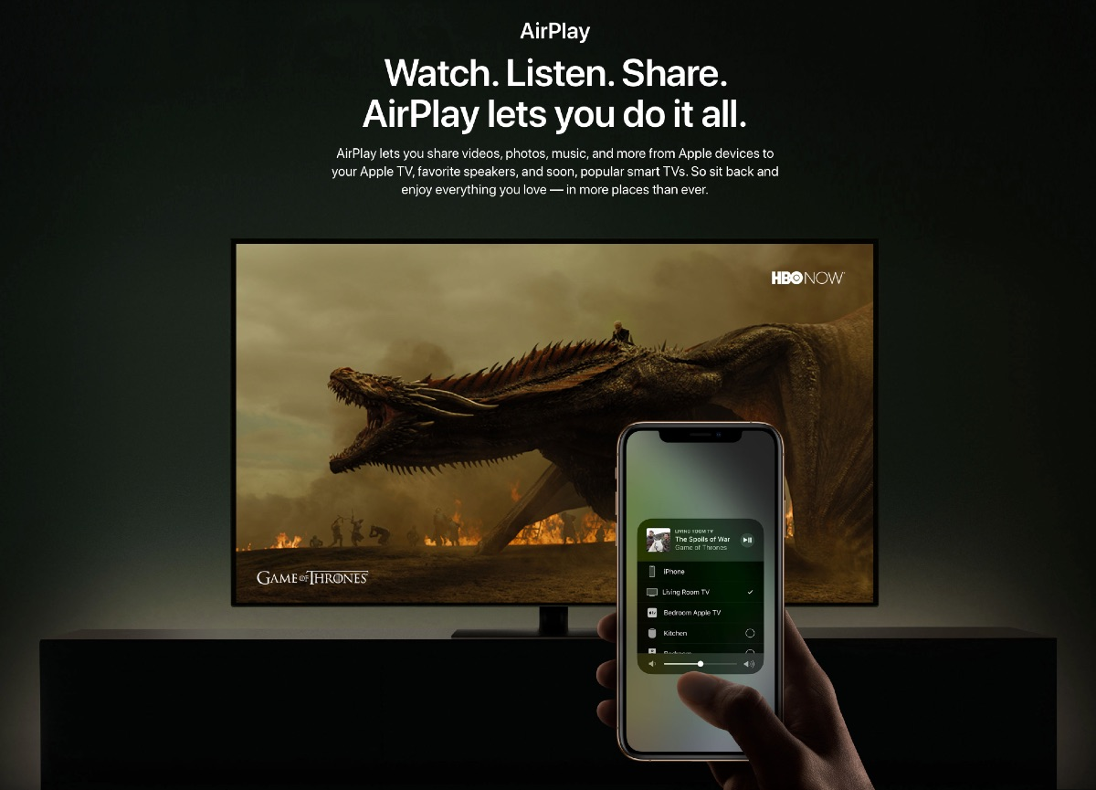 AirPlay 2 integrated TV - 3