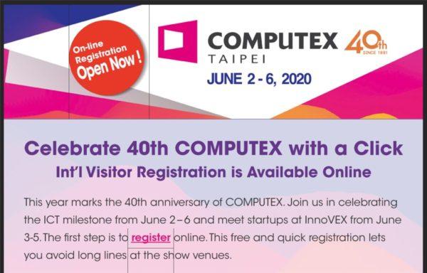 Computex Taipei 2020 - 2