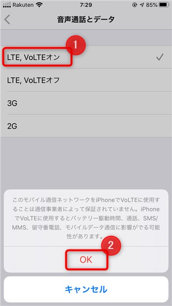 iPhoneで楽天モバイルのeSIMを利用してDual SIM - 21