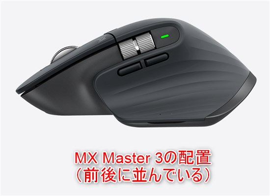 MX Master 3 button layout