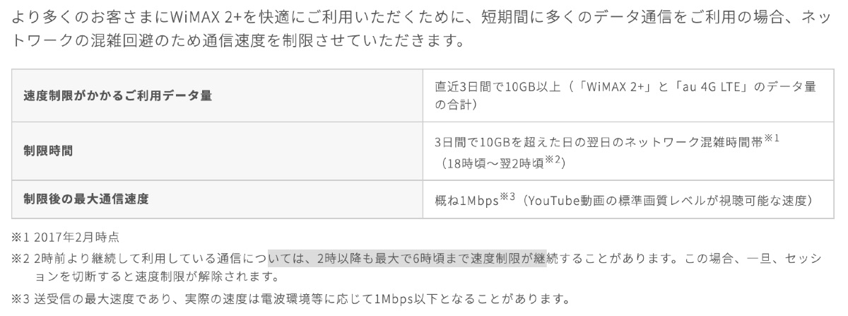 Try UQ WiMAX - 2
