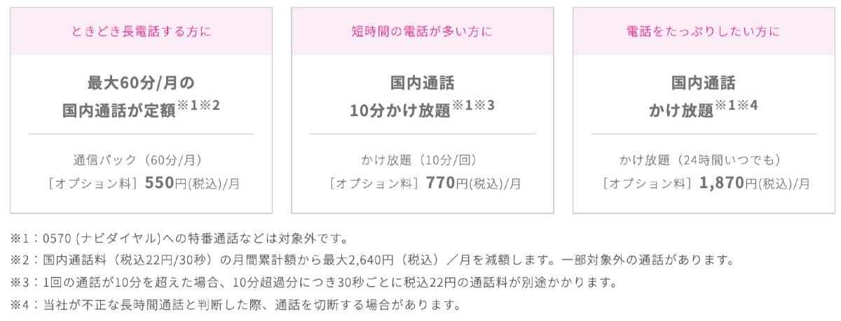 UQモバイル くりこしプラン - 3