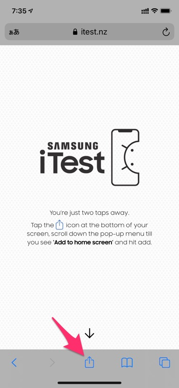 Samsung iTest - 2
